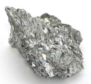 Raw silver nugget