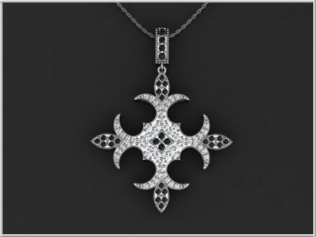 23670 Black&WhiteCross----frame